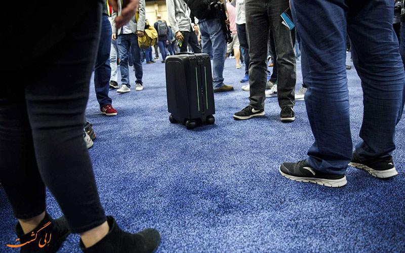 چمدان های هوشمند در سفر