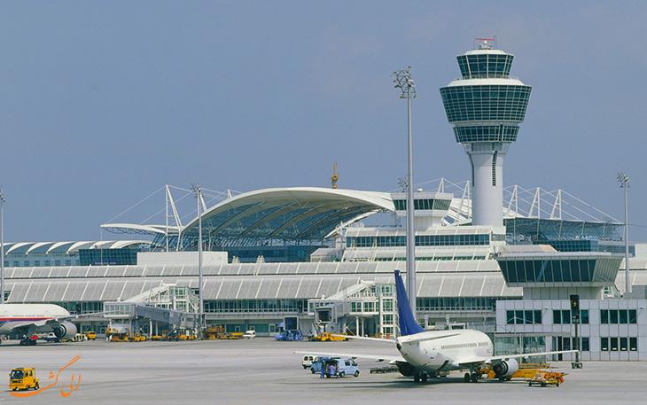 عکس برج مراقبت پرواز فرودگاه