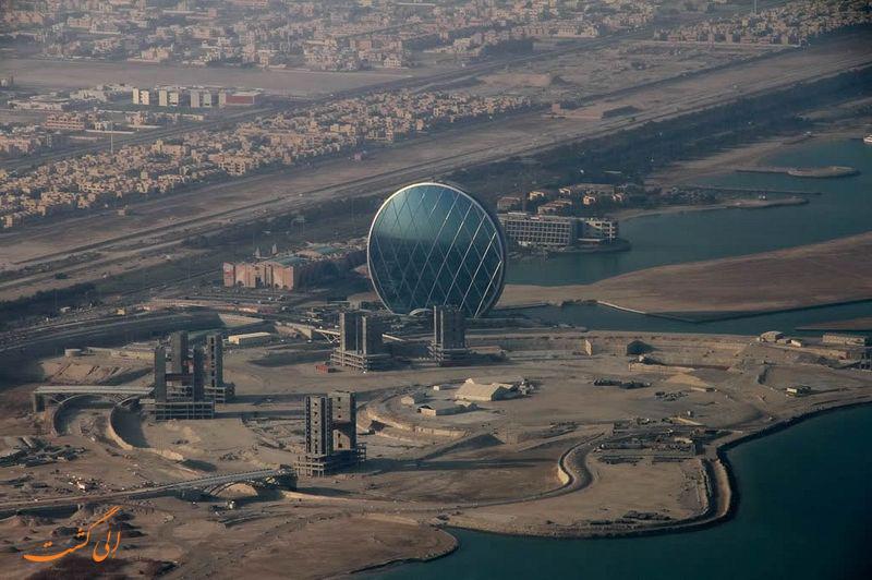 ساختمان های دایره ای شکل در ابوظبی