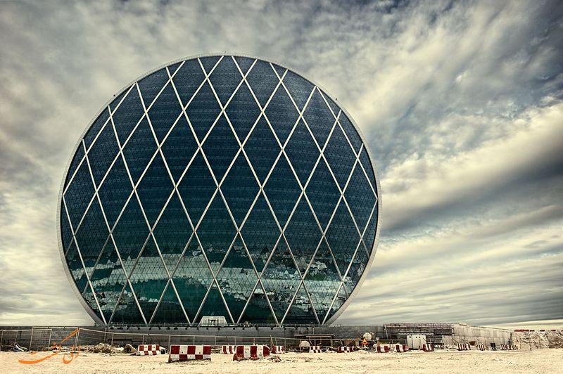 ساختمان های دایره ای شکل