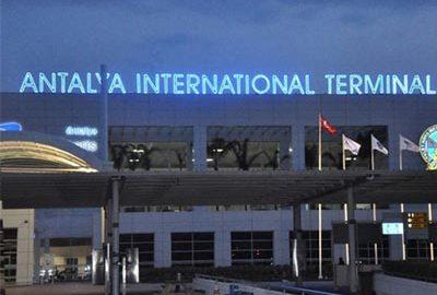 فرودگاه آنتالیا ترکیه