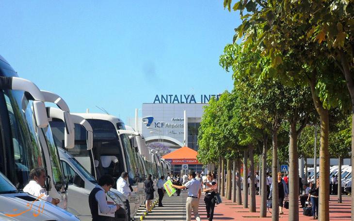 حمل و نقل فرودگاه آنتالیا