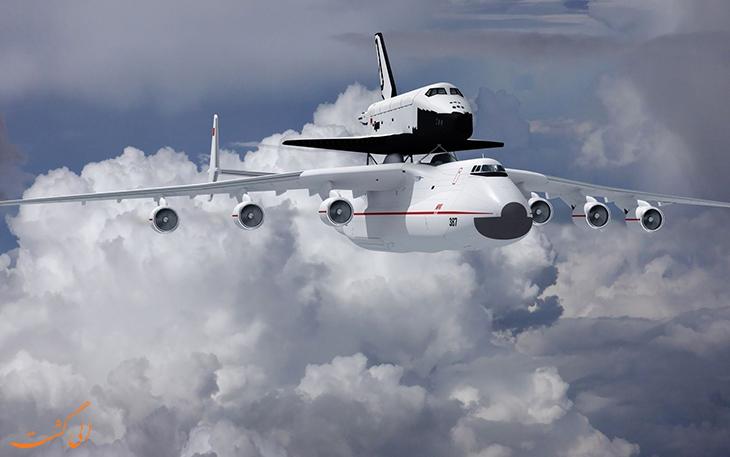 بزرگ ترین هواپیمای باربری جهان