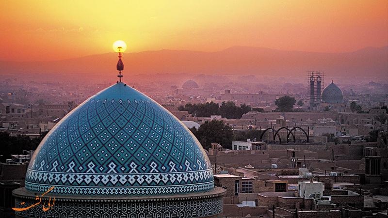 مناطق گردشگری یزد | مسجد جامع یزد