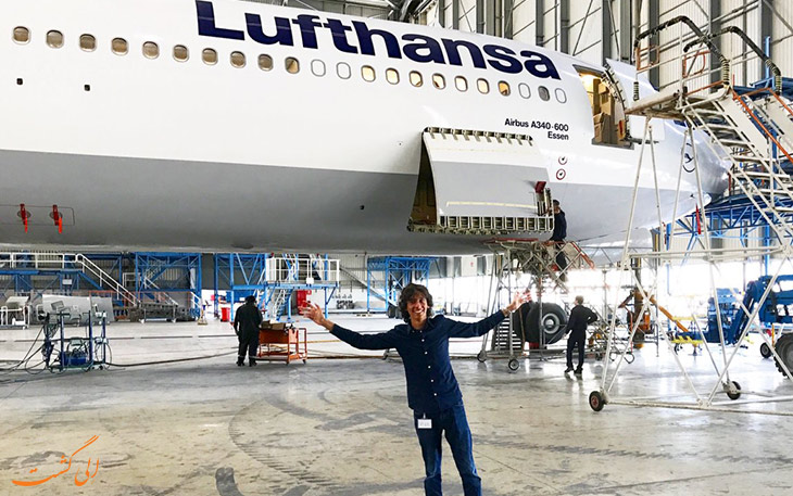 اولین مسافر هواپیما