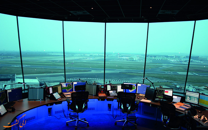 بخش مراقبت پرواز فرودگاه