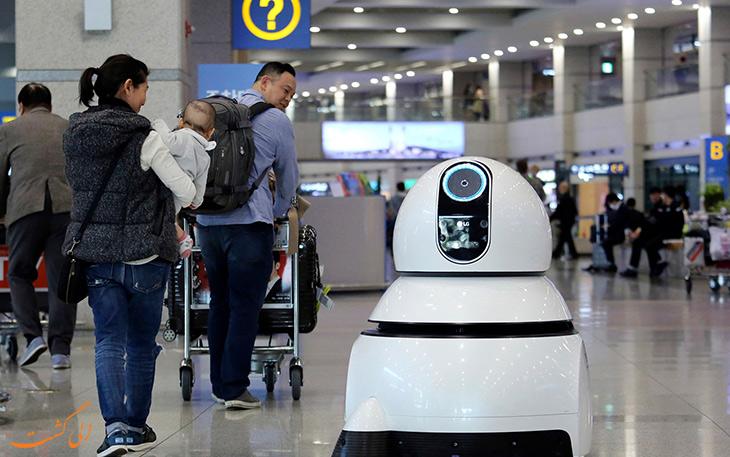 فناوری ترمینال جدید فرودگاه اینچئون