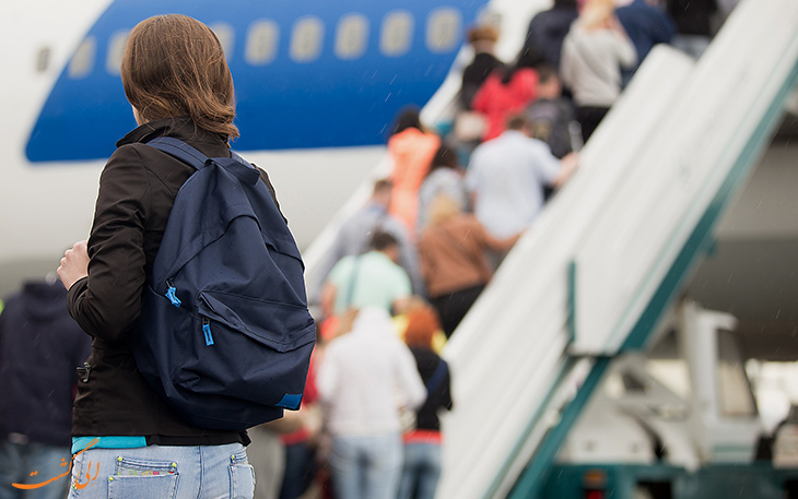 جا ماندن مسافر در پروازهای طولانی مدت