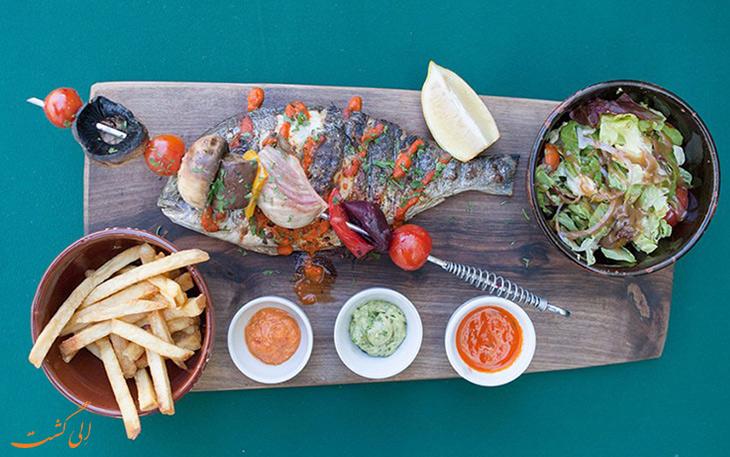 غذاهای مراکشی ، ماهی چرمولا