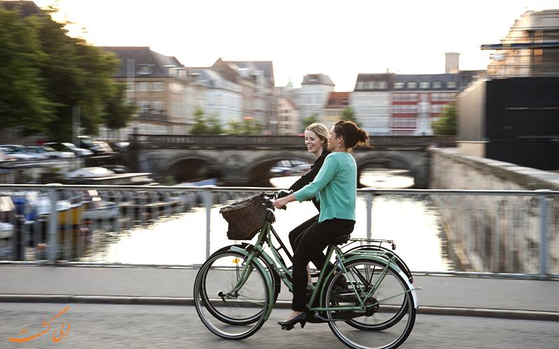 هزینه های دوچرخه سواری در کپنهاگ