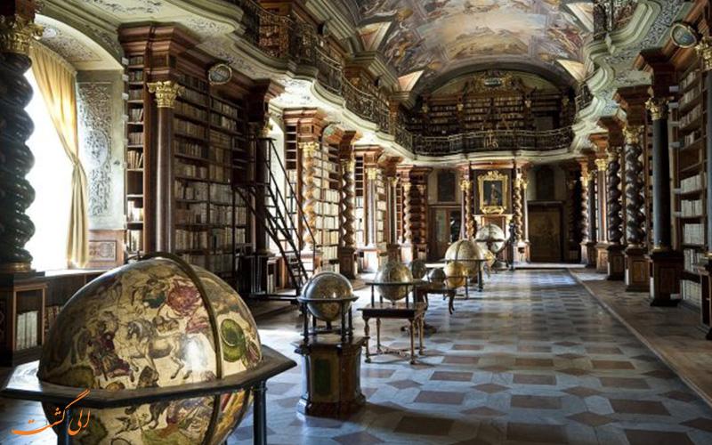 زیساترین کتابخانه ی جهان در چک