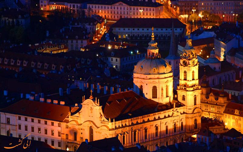 نمایی از شهر پراگ، پایتخت چک