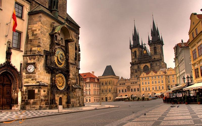 نمایی از پراگ، راهنمای ویزا و سفارت چک