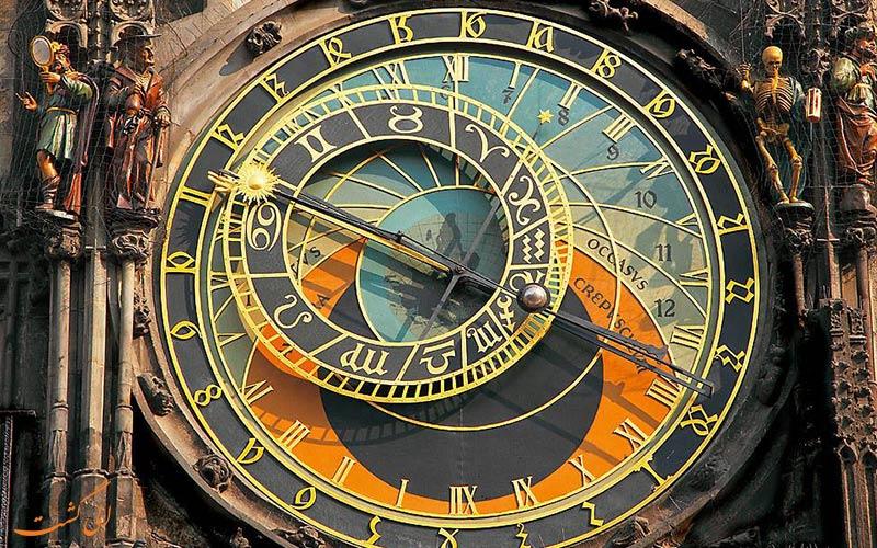 ساعت نجوم در چک