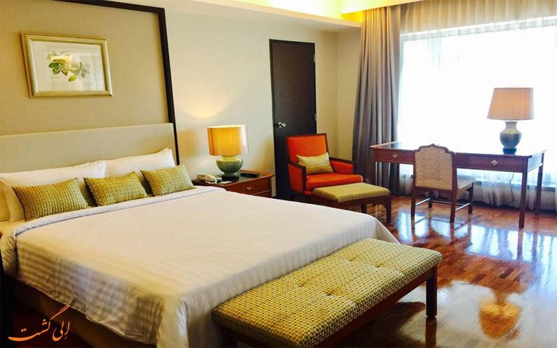 امکانات اتاق های هتل ایندرا ریجنت بانکوک