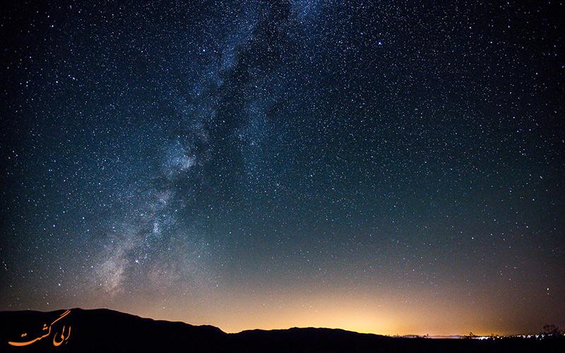 کویر در شب