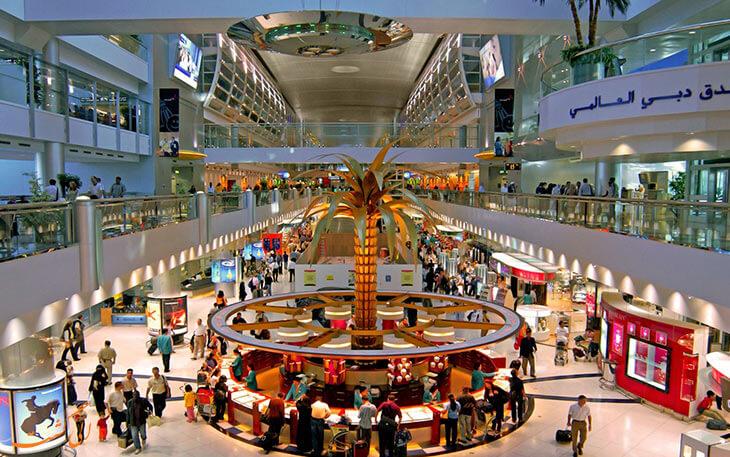 معرفی فرودگاه دبی