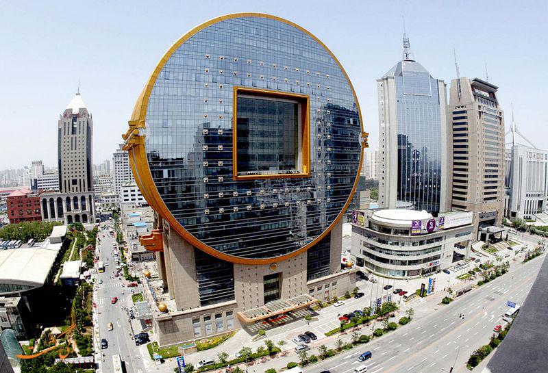 ساختمان های دایره ای شکل چین