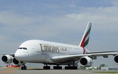 سفارش خرید ایرباس ای 380 توسط هواپیمایی امارات