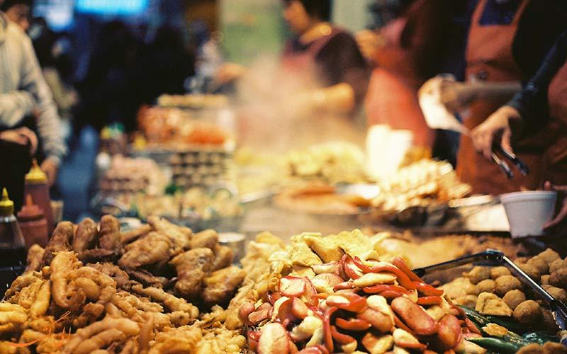 غذاهای خیابانی در فیلیپین
