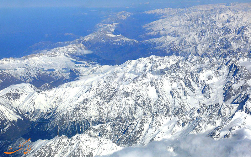 کوه های قفقاز در روسیه