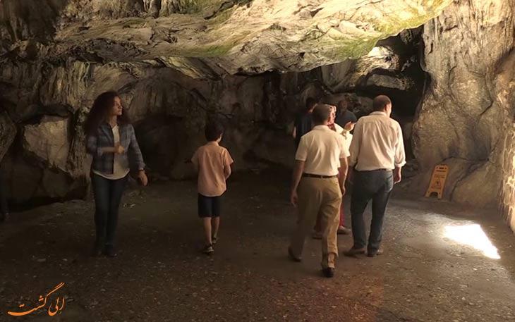 بازدید از غار اصحاب کهف