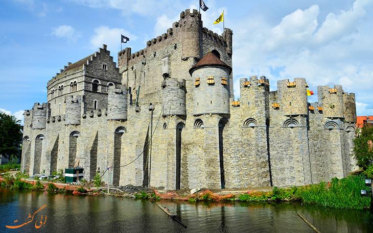 قلعه گراون استین در گنت