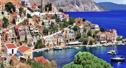 طبیعت گردی در جزار یونان