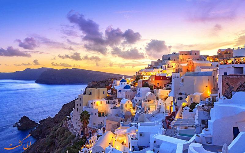 بنادر زیبای یونان