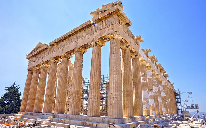 جاذبه های تاریخی یونان