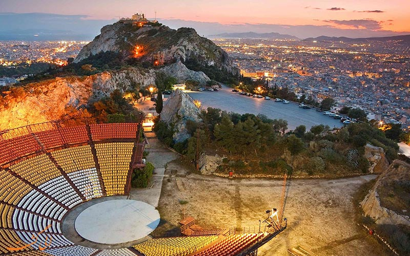 جادبه های اساطیری یونان