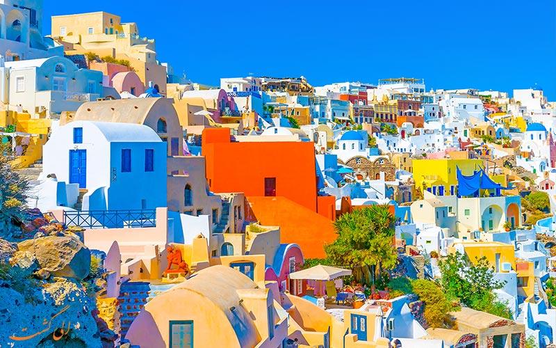 جاذبه های جزیره های یونان