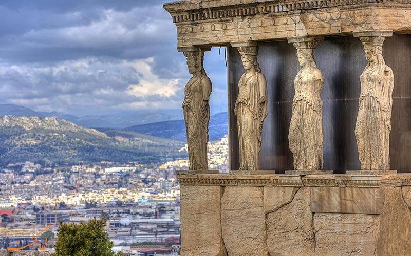 نمونه ای آثار تاریخی یونان