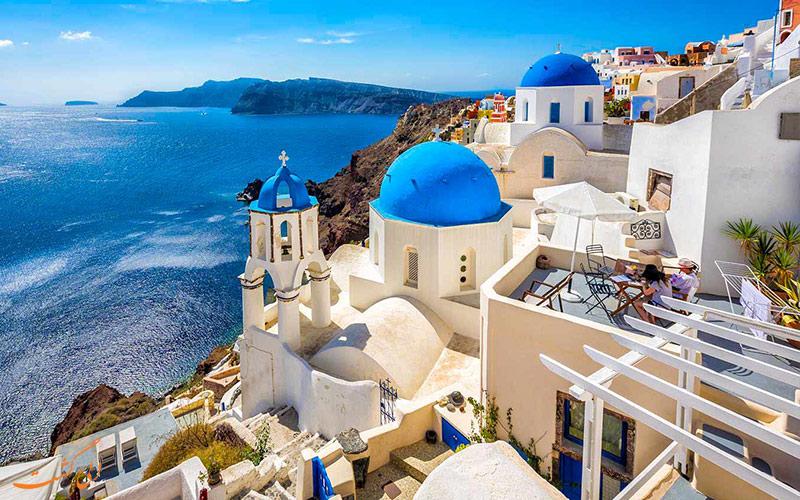 معماری های جذاب یونانی
