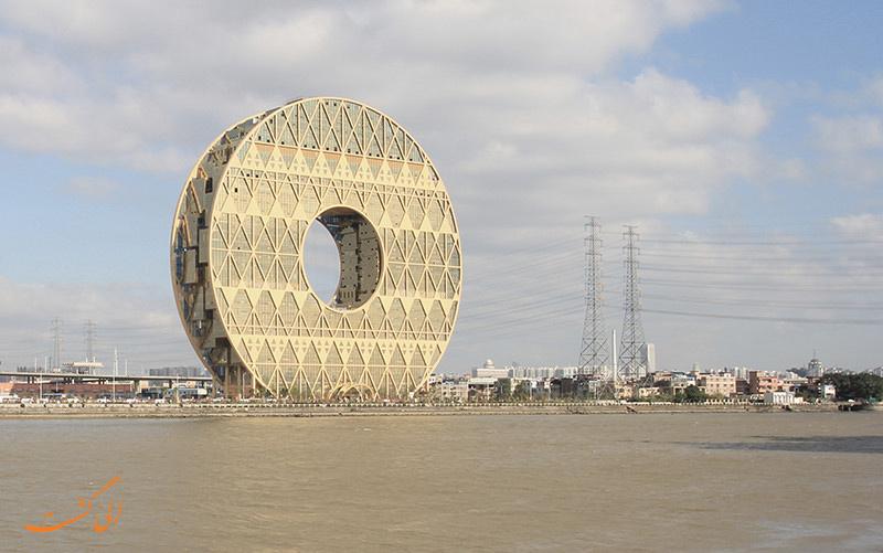 ساختمان های دایره ای شکل گوانجو