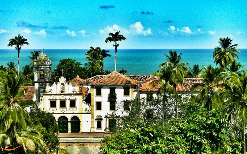 مرکز تاریخی شهر اولیندا در برزیل