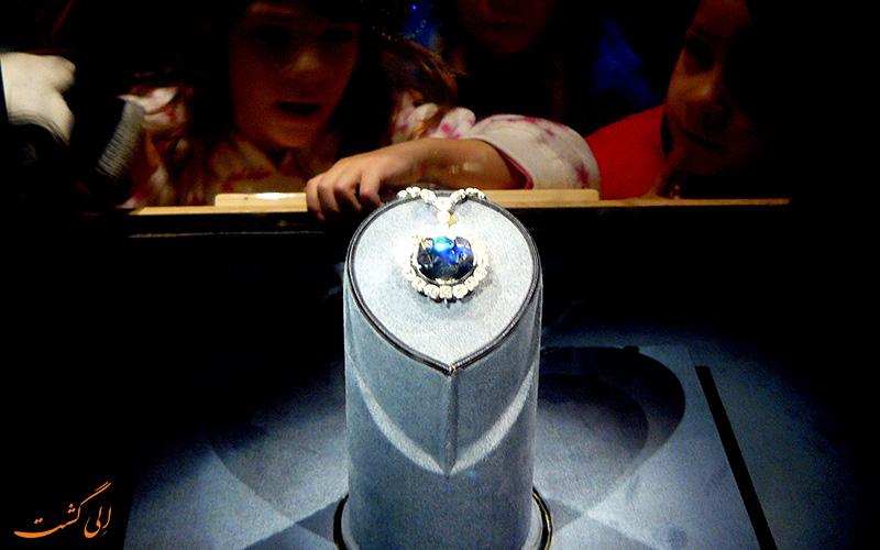 بازدید از الماس نفرین شده