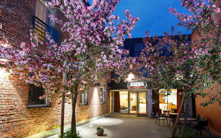 هتل در شهر برن