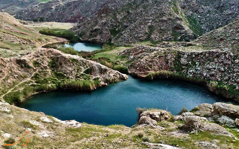 دریاچه ی دوقلو