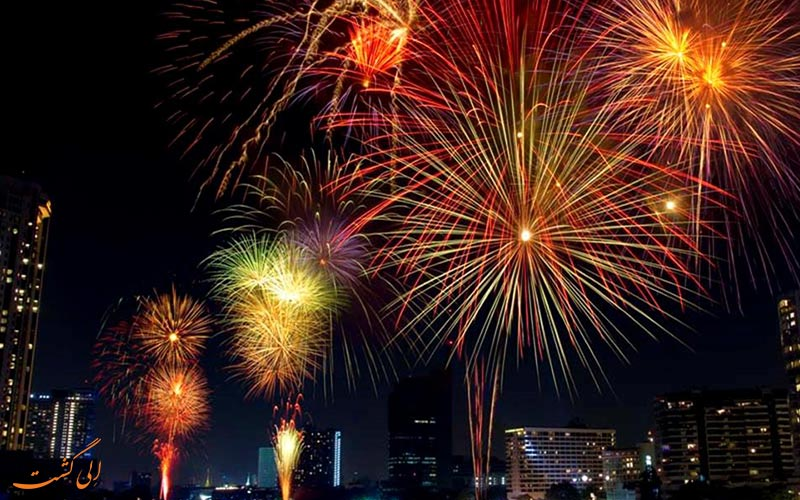 سال نو در بانکوک