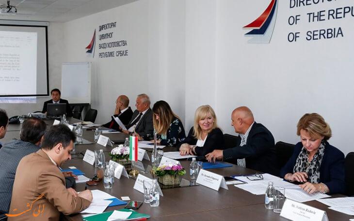 مذاکرات ایران ایر و صربستان