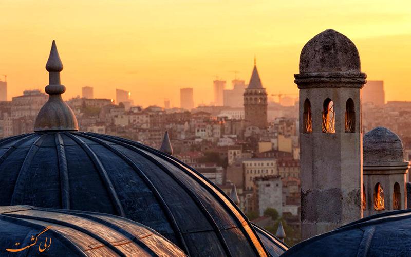 جاذبه های دیدنی در استانبول