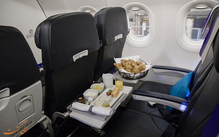 غذا هواپیمایی جون-ایرفرانس