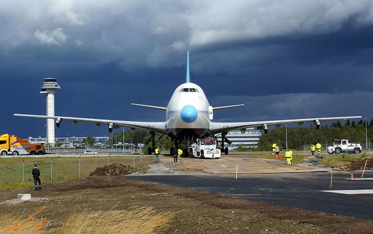 هتل هواپیما در سوئد