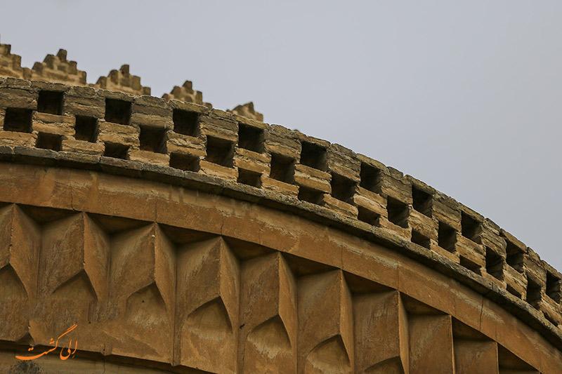 عکس برج کبوتر خانه اصفهان