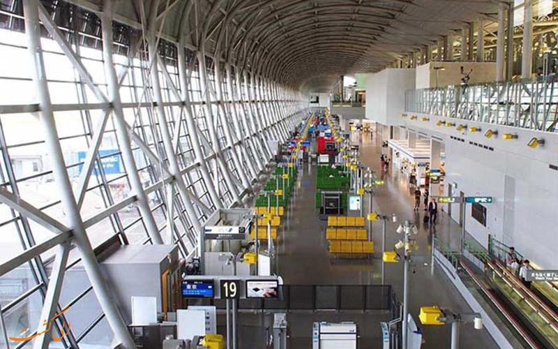 گیت با فرودگاه کانسای ژاپن