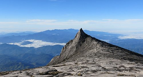 کوه کینابالو