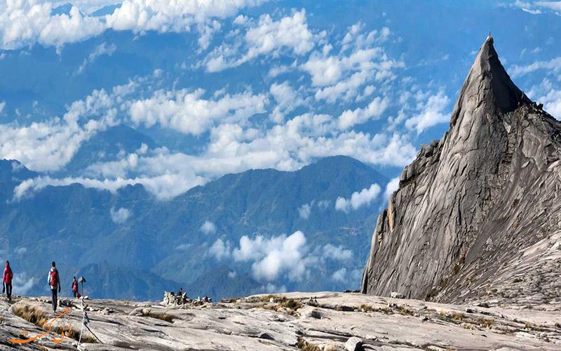 کوه متحرک کینابالو