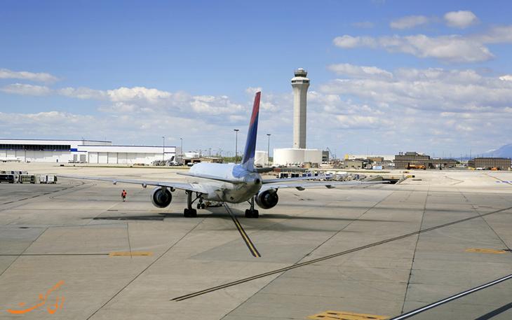 بزرگ ترین فرودگاه های جهان: فرودگاه سالت لیک سیتی