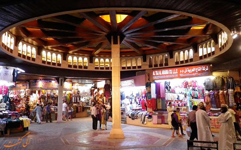 بازار قدیمی در شهر مسقط